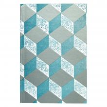 Agenda 2021 – Pocket Version (Mottled Turquoise and Silver)