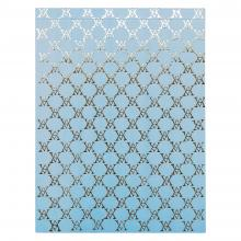 Large Monogramme Notepad (Pale Blue)