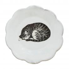 Sleeping Cat Dish