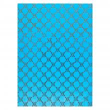 Medium Monogramme Notebook (Bright Blue)