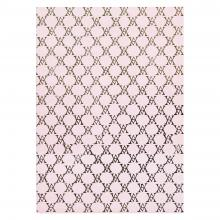 Medium Monogramme Notebook (Pale Pink)