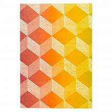 Medium Notebook (Pink and Yellow)