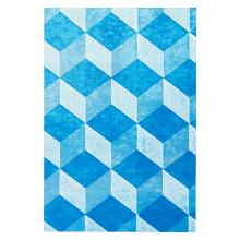 Medium Notebook (Mottled Blue)