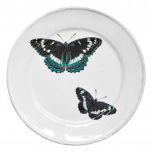 Two Flying Butterflies Plate
