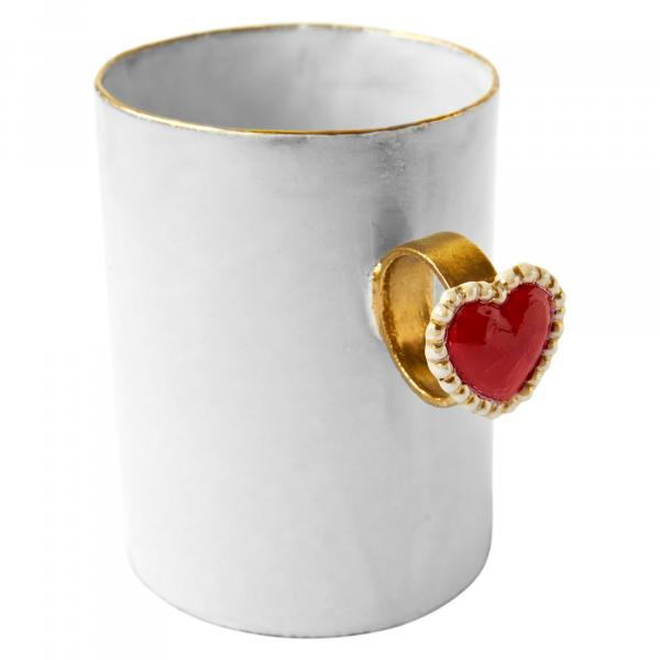 Heart Ring Cup