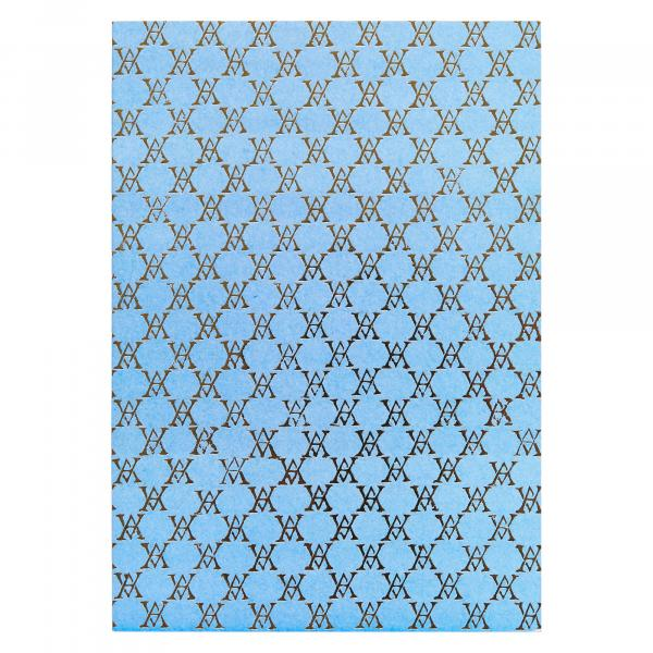 Medium Monogramme Notebook (Pale Blue)