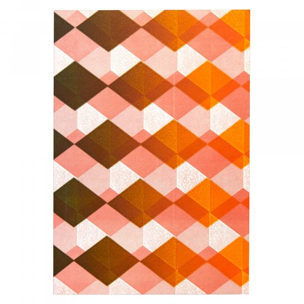 Medium Notebook (Misprinted Orange and Pink)