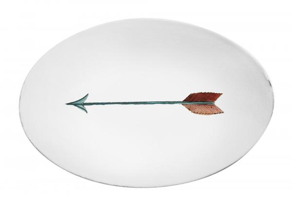 Oval Arrow Platter