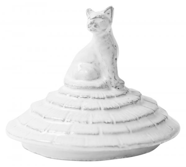 Grand Chalet Cat Candle Lid for Glass Candles